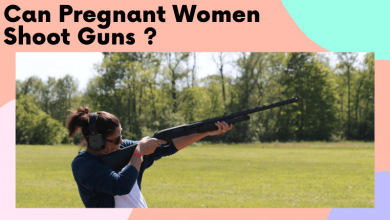 can pregnant women shoot guns