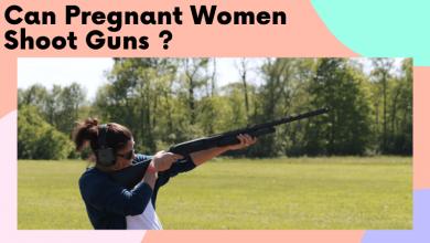 can pregnant women shoot guns
