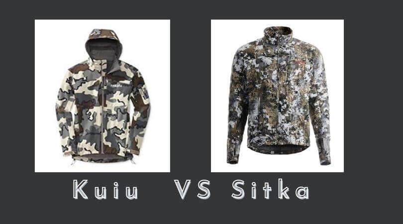 Kuiu vs. Sitka