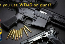 Can you use WD40 on guns