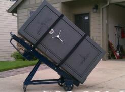 Moving A 2000 Pound Safe