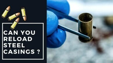 Can you reload steel casings