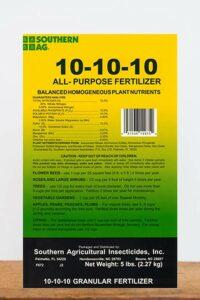 Purpose granular fertilizer for Peony