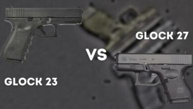 Glock 23 vs 27